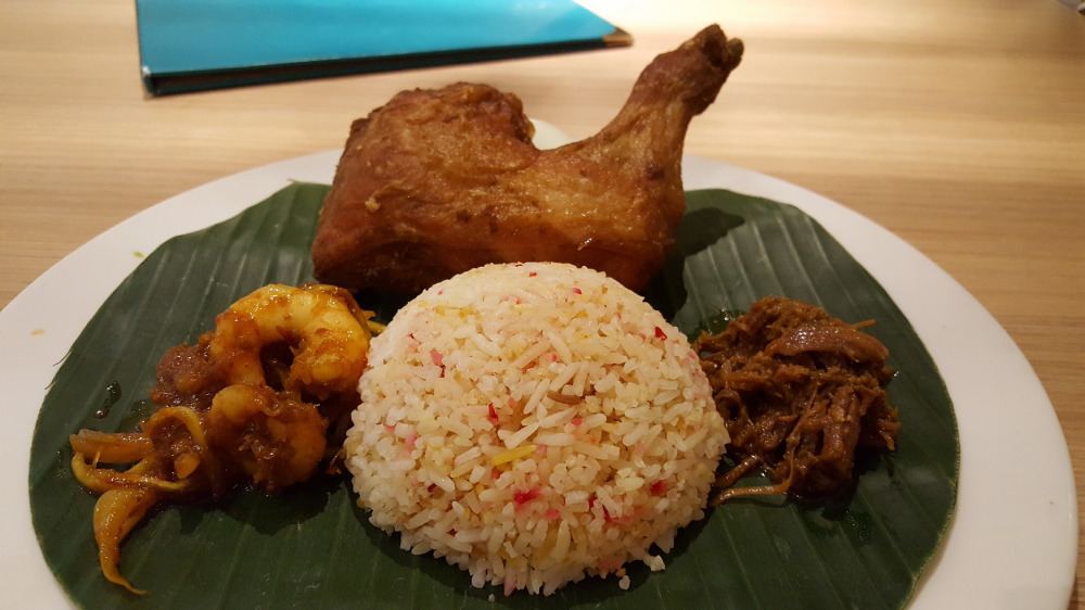 Chicken, shrimp & beef combo in Malaysia