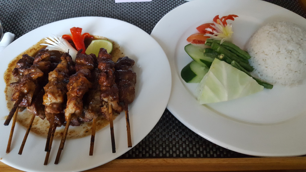 Malaysian chicken satays