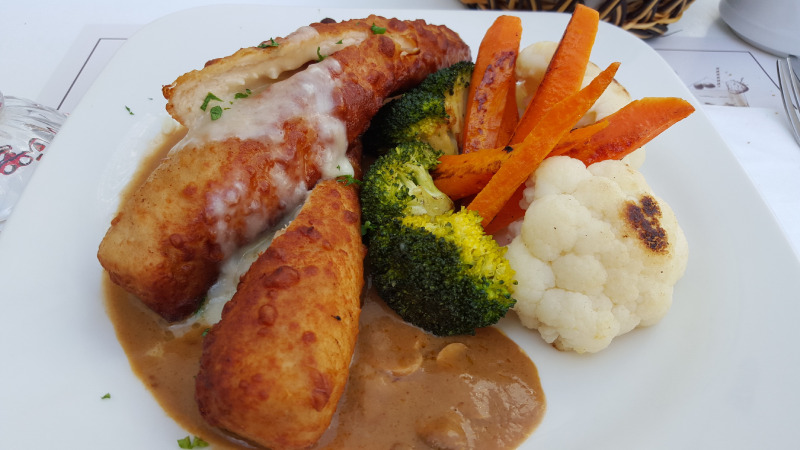 Stuffed chicken Kiev (Ukraine)